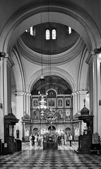 Choral singing in the Church of St. Nicholas, Kotor (Vest der ute) Tags: xt20 montenegro church people mono fav25