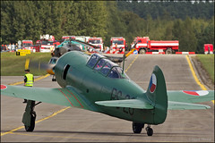 Let C-11 ( Yak-11 ) (Pavel Vanka) Tags: let c11 yak11 yakovlev lkln plzenline plzen pilsen flyin air meeting oldtimer aircraft plane airplane classictrainers czechrepublic warbird