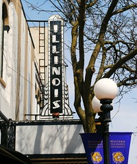 Illinois Theatre - Macomb, Illinois (Cragin Spring) Tags: midwest unitedstates usa unitedstatesofamerica illinois il sign theatre movietheatre illinoistheatre macomb macombil macombillinois