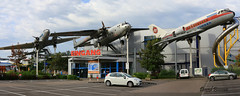 VFW 614  n° G004 + Nord N2501 Noratlas n° 154 & Douglas DC-3A  n° 11722  ~ F-BFGX (Aero.passion DBC-1) Tags: technic museum speyer dbc1 david biscove aeropassion collection avion aircraft plane vfw 614 nord n2501 noratlas douglas dc3 ~ fbfgx
