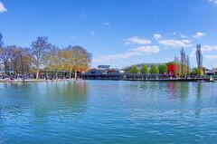 528 Paris en Mars 2019 - le canal de l'Ourcq à La Villette (paspog) Tags: paris france canal mars march märz 2019 canaldelourcq ourcq pont bridge brücke ruedelourcq quaideloise
