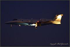 N58 FAA Federal Aviation Administration (Bob Garrard) Tags: n58 faa federal aviation administration learjet 60 bwi kbwi dusk dark night