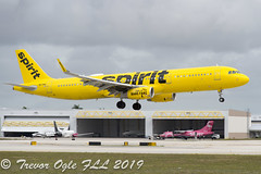 DSC_4053Pwm (T.O. Images) Tags: n679nk spirit airlines airbus a321 fll fort lauderdale