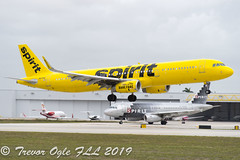 DSC_4056Pwm (T.O. Images) Tags: n675nk spirit airlines airbus a321 fll fort lauderdale