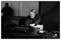 CM Von Hausswolff & Peter Rehberg @ Cafe Oto, London, 19th May 2019 (fabiolug) Tags: synth synthesiser synthesizer electronic electronics cmvonhausswolff peterrehberg pita mikavainio mikavainiobirthdaymemorialbooklaunch pansonic panasonic blastfirst cafeoto london dalston music gig performance concert live livemusic leicammonochrom mmonochrom monochrom leicamonochrom leica leicam rangefinder blackandwhite blackwhite bw monochrome biancoenero zeisscsonnartf1550mmzm zeisszm50mmf15csonnar zeisscsonnar zeisssonnar zeiss sonnar 50mm sonnar50mm 50mmf15