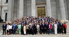 Foto de Familia de los parlamentarios (diputados y senadores) del Partido Popular en la XIII Legislatura