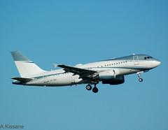 AVIATION LINK A319 VP-CMJ (Adrian.Kissane) Tags: 452019 vpcmj shannon private 4768 a319 aircraft plane jet sky shannonairport outdoors aeroplane