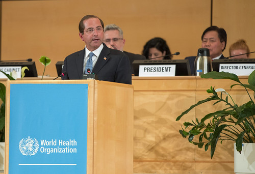 The U.S. Delegation attends the opening of the 72nd World Health Assembly in Geneva