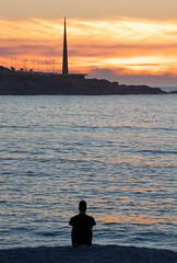 DREAMING... (Emilio Rodríguez Álvarez) Tags: puesta sol sunset galicia galiza coruña mar sea atardecer