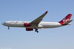 G-VGEM (Baz Aviation Photo's) Tags: gvgem airbus a330343 virgin atlantic vir vs heathrow egll lhr 27l vs46