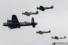 Battle of Britain Memorial Flight (Aimeric D. Photographies) Tags: avion plane planes spotter airshow riat fairford