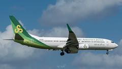 Spring Airlines Boeing 737 (piotrkalba) Tags: airplane narita airport nrt rjaa plane spotting nikon d5300
