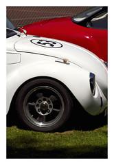 53 (www@VW) Tags: cox beetle karman ghia car auto voitures automobiles véhicules blanc rouge red white vehicles vw volkswagen aircooled flat4 vévé meeting rassemblement