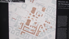 map of Nazi party occupied buildings in Maxvorstadt (sftrajan) Tags: museum nsdap munich history munichdocumentationcentreforthehistoryofnationalsocialism canonsx500is germany 2019 nsdokumentationszentrum maxvorstadt map naziism hauptstadtderbewegung museo musée המרכזלתיעודהנאציזםבמינכן münchen allemagne deutschland briennerstrasse alemania