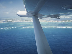 Little planes are the best, so much fun! - Coast of Belize (Jonmikel & Kat-YSNP) Tags: belize vacation plane flying airplane ocean sea blue