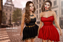 Ohemo - Dolores minidress for Dubai (>Ale<) Tags: dubai dubaievent exclusive new mesh 3d secondlife sl slink belezza maitreya event release femme women woman girl girls dress clothing virtualworld fashion mini