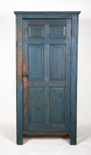 Chimney or Pantry Cupboard in blue paint ($588.00)