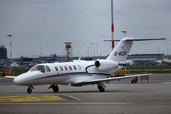G-HCSA Cessna 525A CitationJet CJ2 @ Schiphol 03-May-2019 by Johan Hetebrij (Balloony Dutchman) Tags: ghcsa cessna 525a citationjet cj2 525 c525 citation jet amsterdam airport schiphol 2019 aircraft