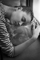 (Suharik moi) Tags: bw nikon 35mm film ilford girl portrait