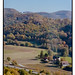 Neideck im Herbst über dem Wiesenttal