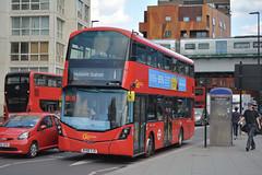 WHV145 - BV66 VJD (Solenteer) Tags: goaheadlondon londongeneral whv145 bv66vjd volvo b5lh wrightbus eclipsegemini3 elephantcastle