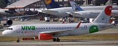 Airbus A-320 XA-VAY (707-348C) Tags: losangeles thehill klax passenger airliner jetliner airbus airbusa320 xavay vivaaerobus viv lax ca california 2019 usa a320 viva