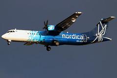 ES-ATA_09 (GH@BHD) Tags: esata atr atr72 atr72600 nordica bhd egac belfastcityairport turboprop aircraft aviation airliner