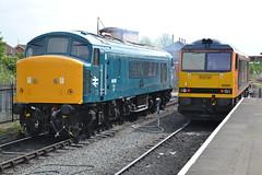 46010 and 60095 Kidderminster 18/5/19 (Nickbrook47854) Tags: gbrf class 60 class60 46 peak train preservation railway kidderminster