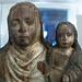 Imatge gòtica de Santa Anna i la marededéu | Museu Comarcal de l'Urgell
