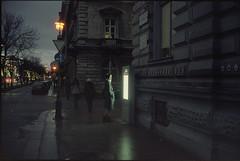 Terror Háza (Monkeypainter) Tags: leica m2 cinestill800 summicron35 budapest hungary terrorháza girl andrássyút