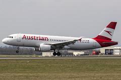 OE-LBT | Austrian Airlines | Airbus A320-214 | CN 1387 | Built 2000 | VIE/LOWW 04/04/2019 (Mick Planespotter) Tags: oelbt austrian airlines airbus a320214 1387 2000 vie loww 04042019 aircraft airport 2019 schwechat vienna a320 flight