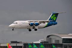 EI-RJI BAe146-200 Cityjet (eigjb) Tags: dublin airport eidw ireland international collinstown jet transport aircraft airplane plane spotting aeroplane 2019 eirji bae146200 cityjet bae146 rj85 regional airliner aer lingus irish british aerospace hawker avro