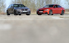 BMW M5 & M4. (Tom Daem) Tags: bmw m5 m4 brustem