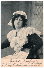 Miss Violet Vanbrugh (pepandtim) Tags: postcard old early nostalgia nostalgic