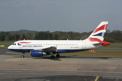 G-EUPO BA A319 (Vernon Harvey) Tags: edinburgh edi geupo airbus a319 british speedbird