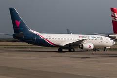 4L-BQJ_B737NG_TBS_29APR19 (Plane Shots) Tags: 4lbqj b737ng jetliner mywayairlines tbs ugtb