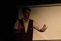 DSC_8974 (Peter-Williams) Tags: brighton sussex uk sweetvenues werks fringe event performance themaninthebluebox