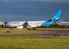 Air Transat                                      Airbus A330                                     CGUFR (Flame1958) Tags: 98012 airtransat airtransata330 cgufr airbus a330 330 airbusa330 dub eidw dublinairport 200519 0519 2019 a6ekr gtccg daecapitol iacdublin iac internationalaerospacecoatings