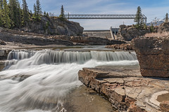 2019-05-AB-Seebe (gabbert_james) Tags: dam river hydroelectric alberta waterfall rapids bowriver rockymountains canada stone rock landscape