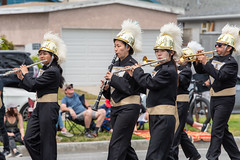Bishop Montgomery High School Knights (mark6mauno) Tags: clarinet flute band bishop montgomery high school knights 60thannualtorrancearmedforcesdayparade 60th annual torrance armed forces day parade 2019 nikkor 70200mmf28evrfled nikon nikond810 d810