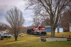 Basic Framing (Trev_Ster) Tags: gloomy dreary pictures trees railroad trains photography framing