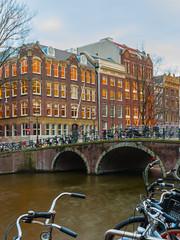 Canal & Bike (caioaugustogarcia) Tags: amsterdam netherlands netherlands canals brickarchitecture niederlande nederland lightroom adobelightroom sony sonyalpha sonyalpha7ii sonya7ii sony7m2 wanderlust travelphotography architecturephotography architecture cityscape europe