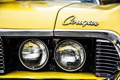 Grille (Neil Young Photography (nyphotos.ca)) Tags: headlight grille cougar mercury 1970 351 calgary alberta canada nikon d700 fotoman nyphotos classic