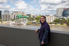 PROFILE: Zahra Jadidi (QUT Science and Engineering Faculty) Tags: qut sef sblock eecs schoolofelectricalengineeringandcomputerscience womeninstem outside goodwillbridge