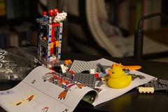 Duck 109 of 365 (don_espe) Tags: 365 365day duck ducky lego legos porg rubberduck rubberducky starwars starwarslego
