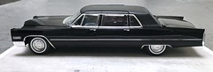 1966 Cadillac Fleetwood Series 75 Limousine (Jeffcad) Tags: 1966 cadillac car fleetwood series 75 limousine black 125 scale models model handmade conversion convertion hasegawa kit
