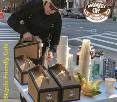 Harlem, New York (Quench Your Eyes) Tags: monkeycup cafe harlem manhattan uppermanhattan newyorkcity bicyclefriendlycafe bicyclefriendly coffeeshop coffee biketowork