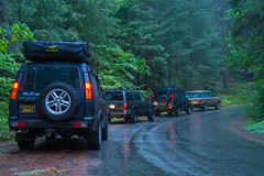 Land Rovers & 4Runner at Hell Hole (mojocoggo) Tags: land rover landrover range rangerover toyota 4runner offroad snow photography jungle forest camel trophy dylan leff