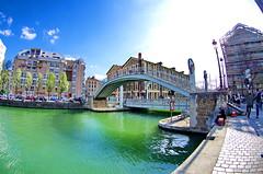 534 Paris en Mars 2019 -le Pont de la rue de Crimée sur le Canal de l'Ourcq (paspog) Tags: paeis france bassindelavillette mars march märz 2019