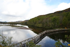 Loch Fleet (stuartcroy) Tags: scotland loch fleet reflection sea scenery sky still beautiful blue bay